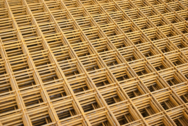 Steel mats royalty free stock images