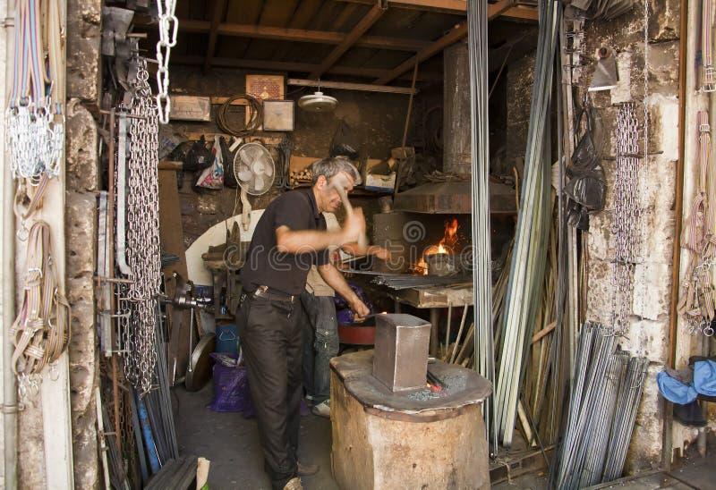 Steel merchants royalty free stock photos