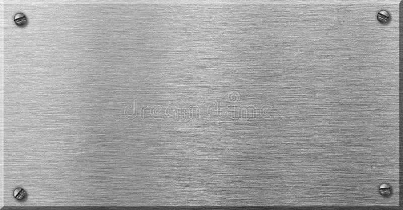 steel metal plaque with rivets stock photo image of plaque texture 54056784. Black Bedroom Furniture Sets. Home Design Ideas