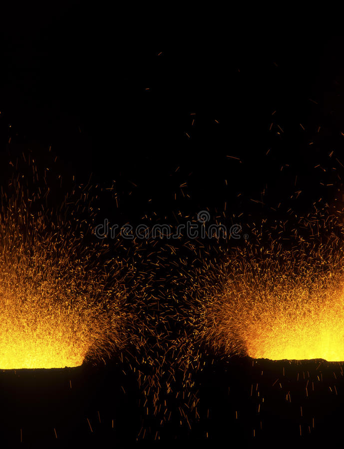 Download Steel mill stock image. Image of industry, melt, melting - 11598411
