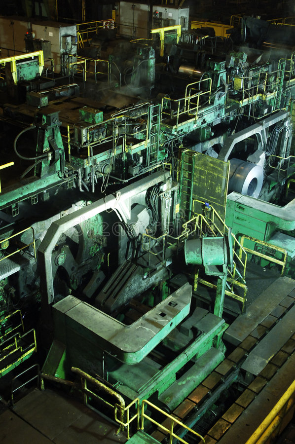 Download Steel Mill Royalty Free Stock Image - Image: 2443196
