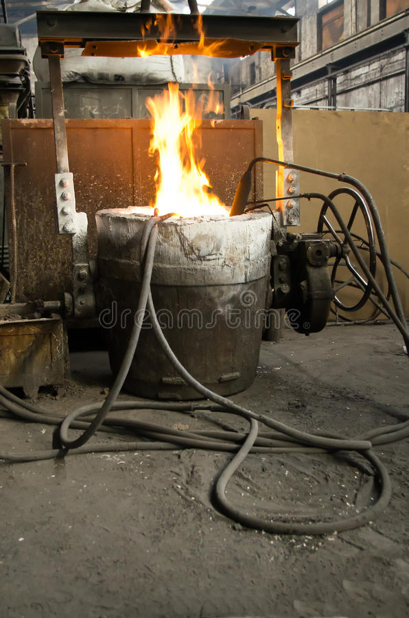 Download In A Steel Mill Royalty Free Stock Image - Image: 25385126