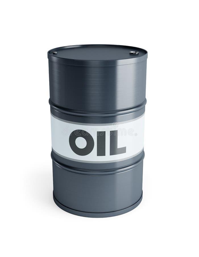 Download Steel oil barrel stock illustration. Illustration of chemical - 23689929