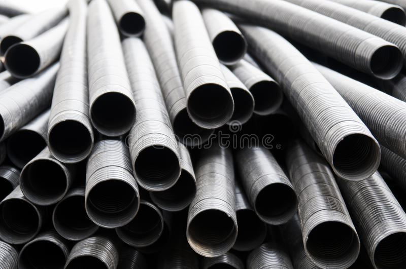 Steel Pipe stock photography