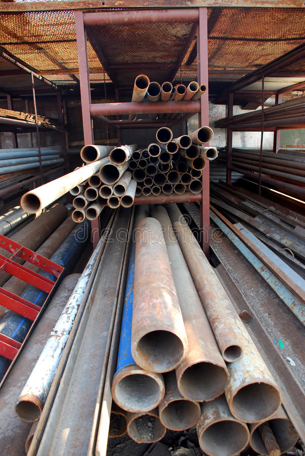 Download Steel pipes stock photo. Image of coils, manufacturing - 14649310