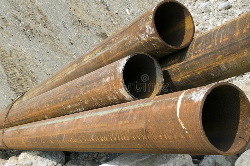Download Steel pipes stock photo. Image of engineering, pipe, foundation - 20267652