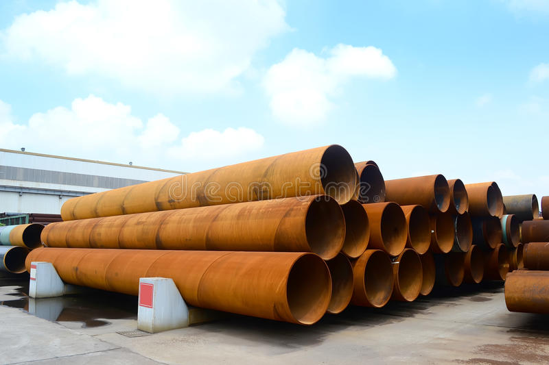 Download Steel pipes stock photo. Image of shape, industry, pipeline - 20952982