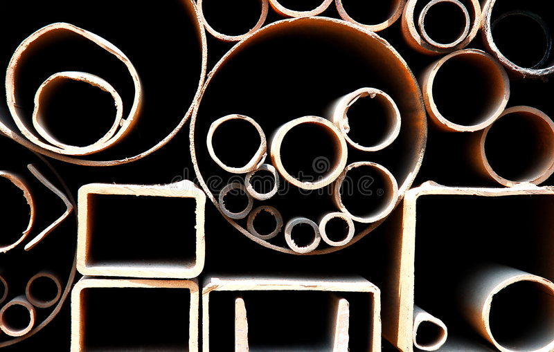 Download Steel pipes stock photo. Image of industrial, closeup - 2361608