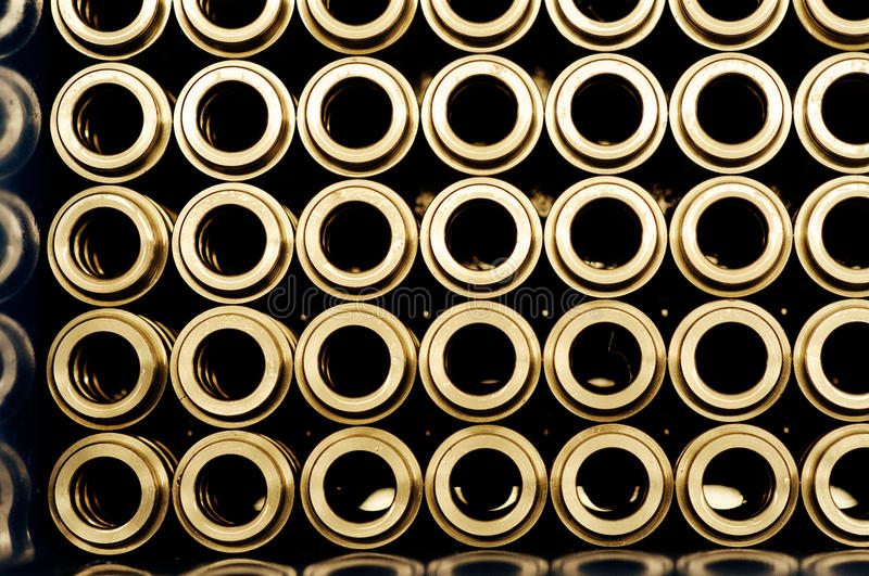 Steel pipes for ART royalty free stock photos