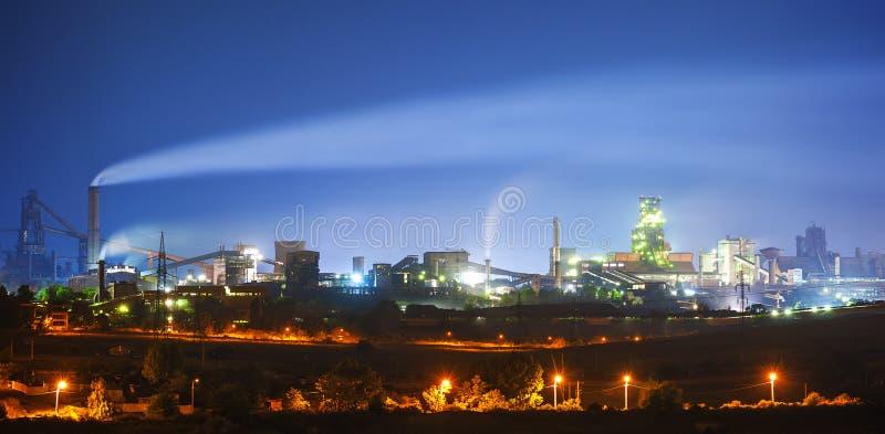 Steel plant royalty free stock photos
