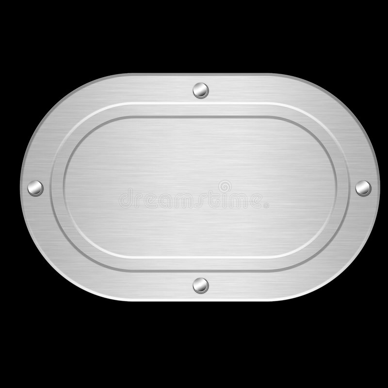 Free Steel Plate Royalty Free Stock Photo - 2973525