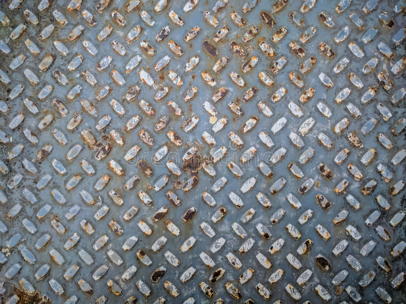 Steel plate texture background. With grange style colors royalty free stock image