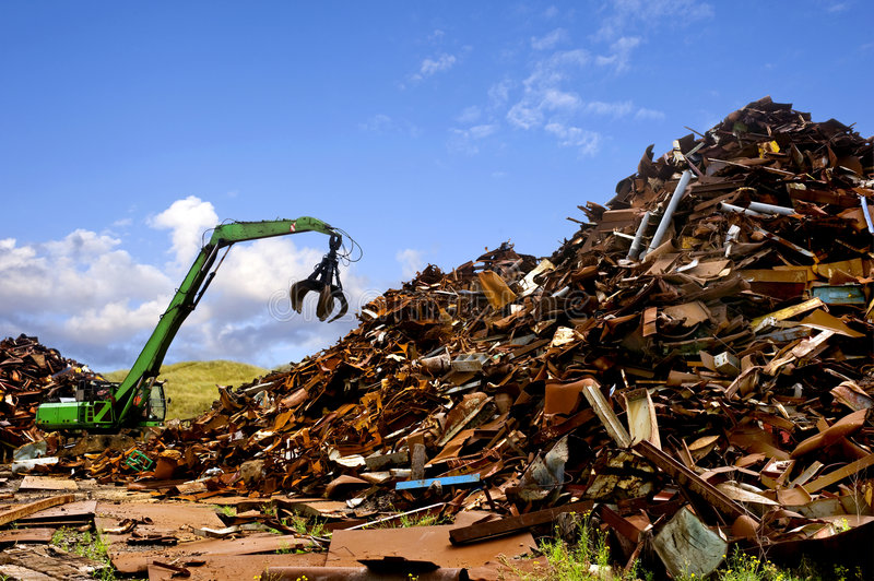 Download Steel recycling stock image. Image of heap, warm, tool - 7655887