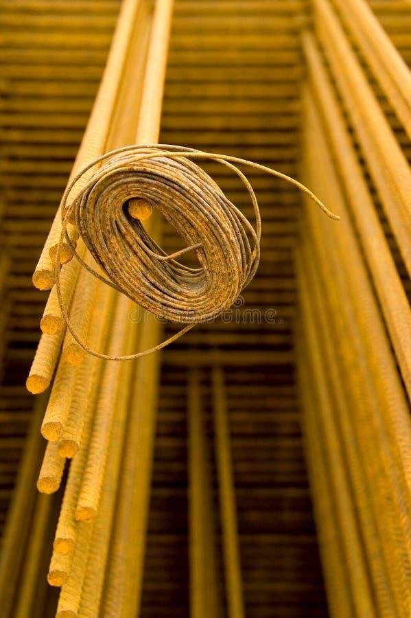 Download Steel reinforcement stock photo. Image of metal, reddish - 1415340