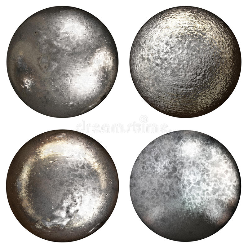 Free Steel Rivet Heads Stock Photo - 41992250
