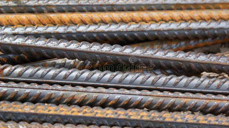Steel rod background. Bars texture stock images