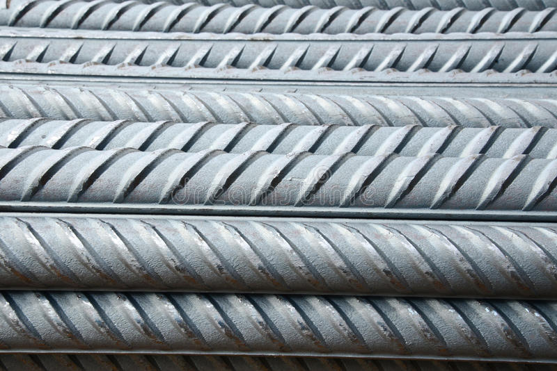 Steel rods royalty free stock image