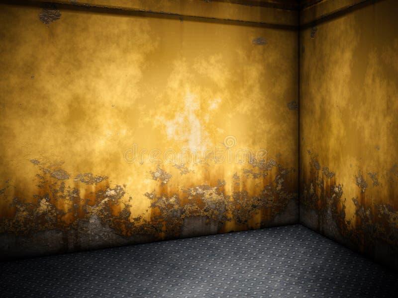 Steel room royalty free illustration