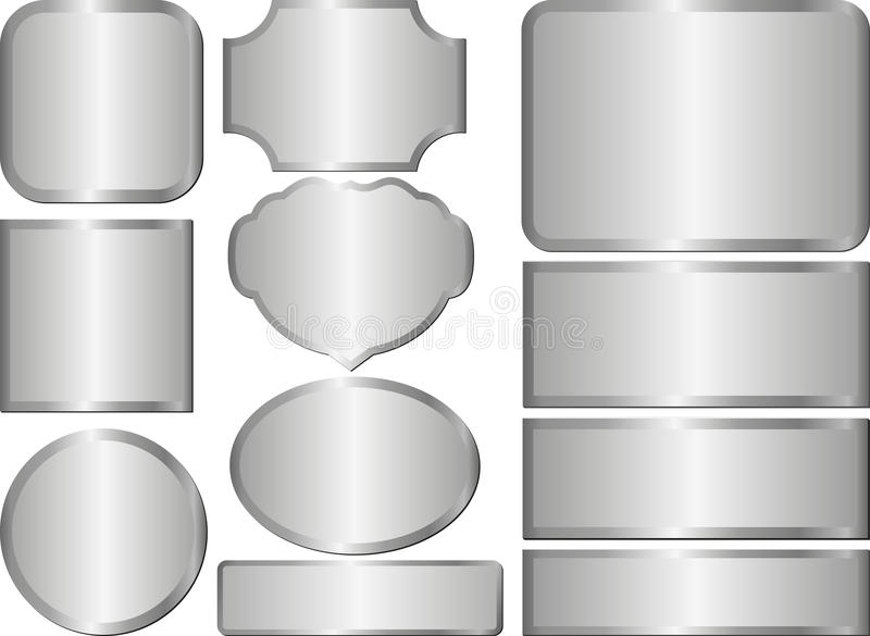 Steel vector illustration
