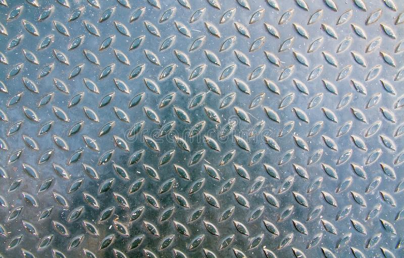 Steel sheet texture floor royalty free stock photography