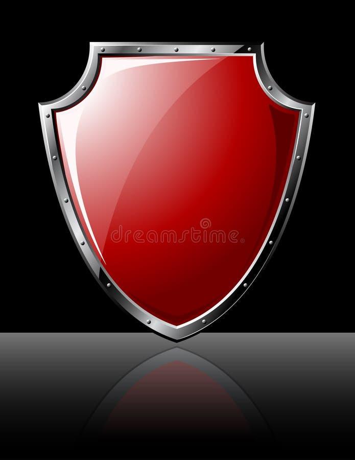 Download Steel Shield stock vector. Image of nobility, metal, clip - 10820874