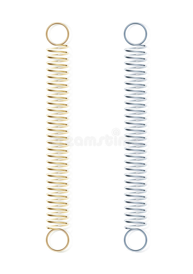 Download Steel spring stock vector. Illustration of steel, hard - 23414376
