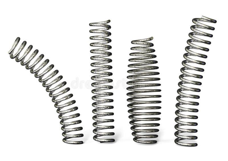 Steel Spring Stock Image