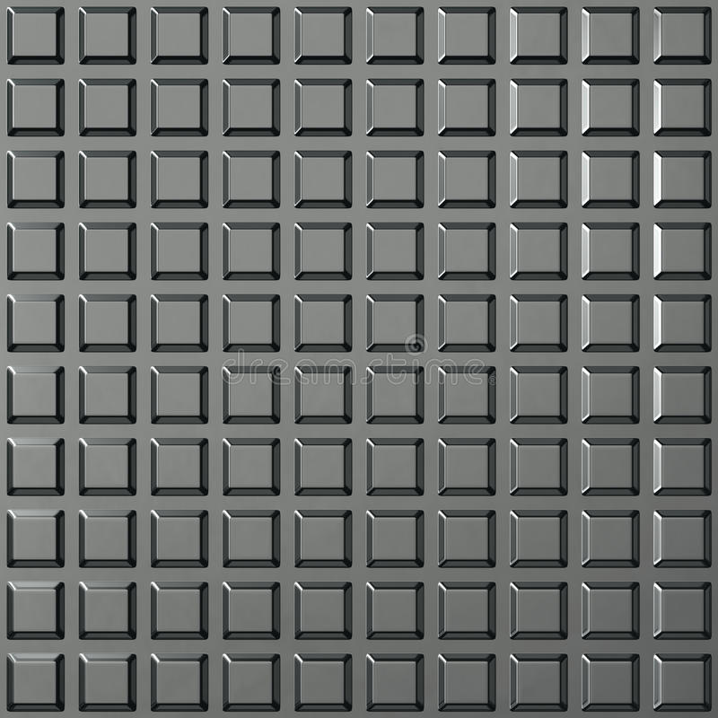 Steel square pattern