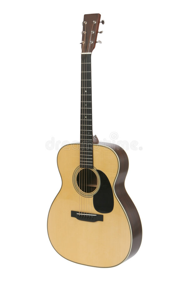 Steel-string Acoustic Guitar royalty free stock photo