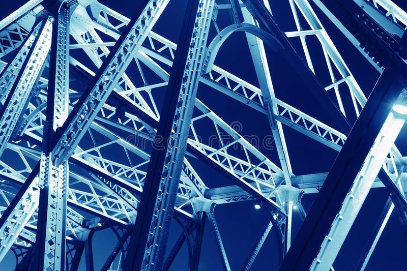 Steel structure. For use as background royalty free stock photo