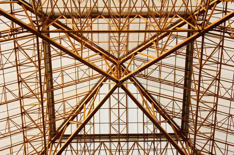 Steel structure royalty free stock photography