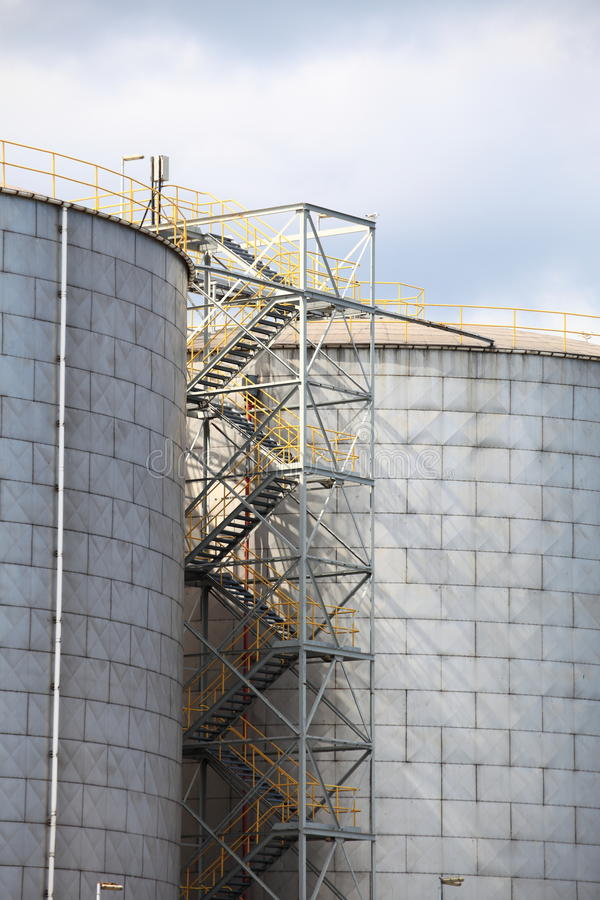 Steel Tanks Stock Images