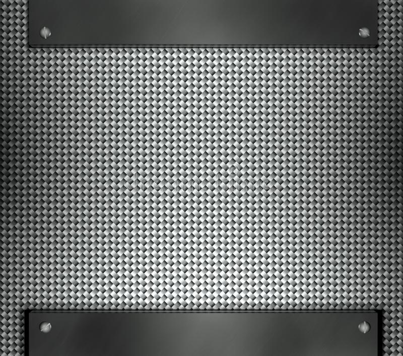Download Steel Template With Copy Space Metal Background Stock Illustration - Image: 23483171
