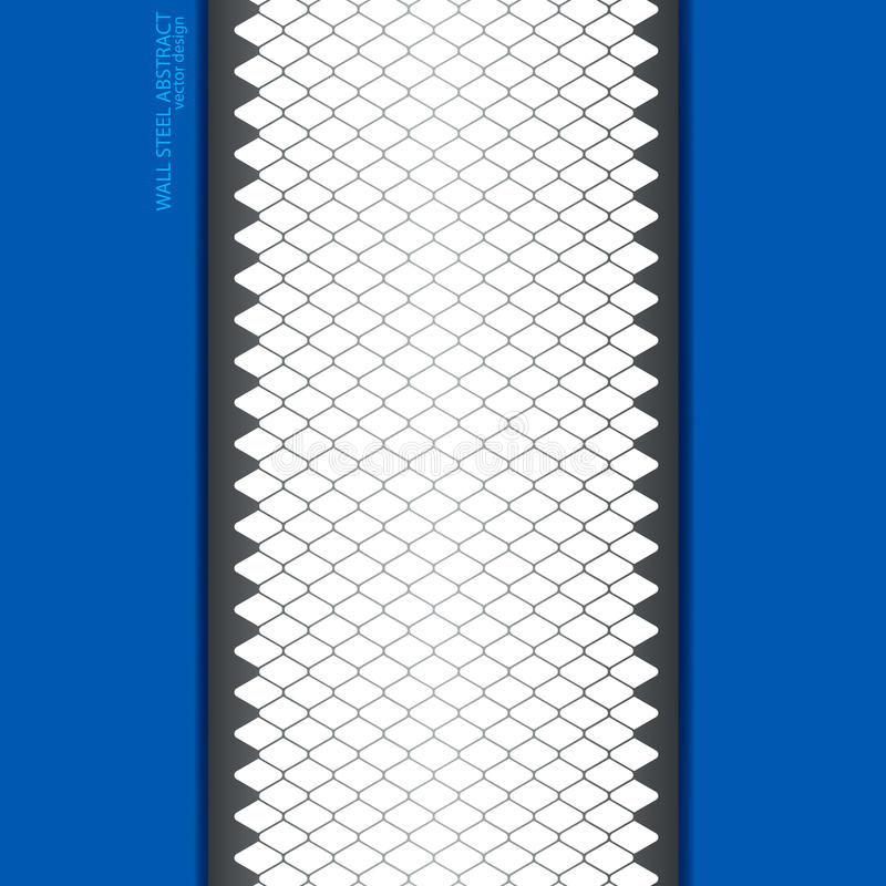 Steel template design stock illustration
