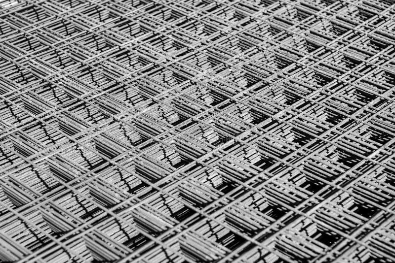 Steel texture. Texture of steel reinforcement bars stock photos