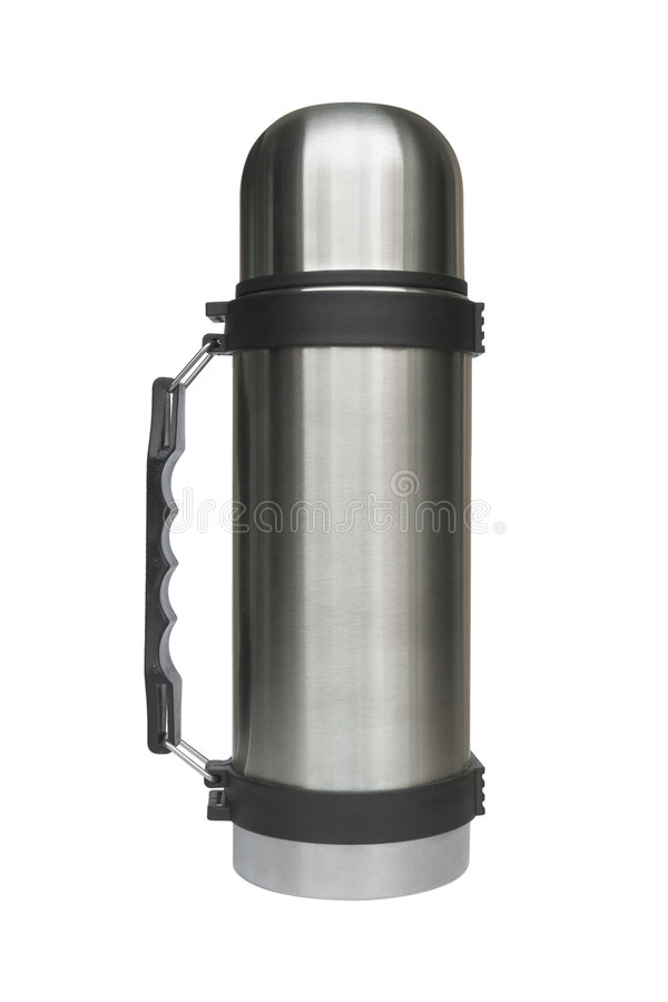 Free Steel Thermos Royalty Free Stock Images - 3187199