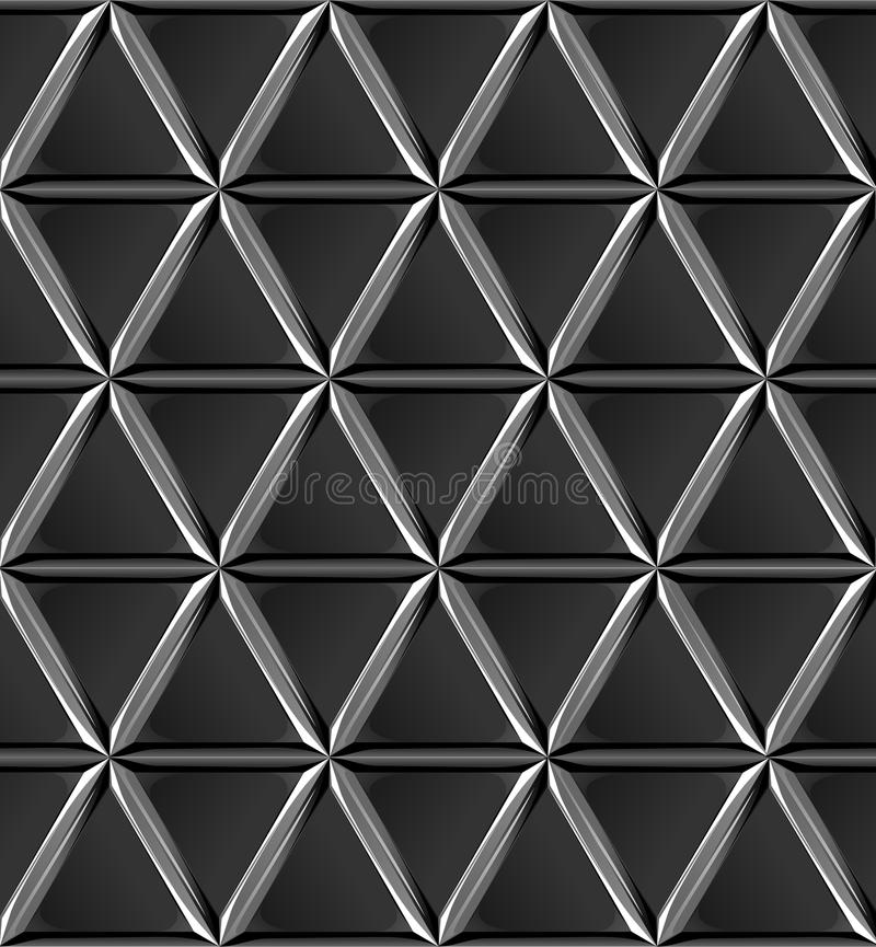 Texture black bloom metal triangles royalty free stock photo