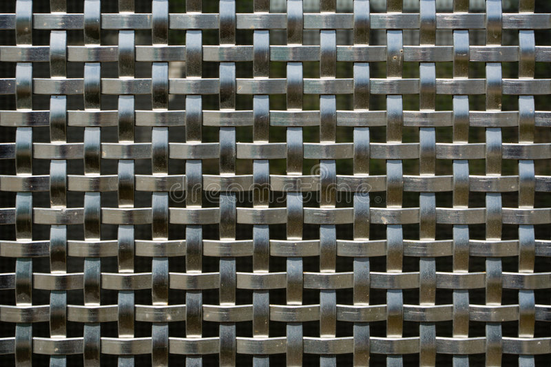 Steel Weave royalty free stock photography
