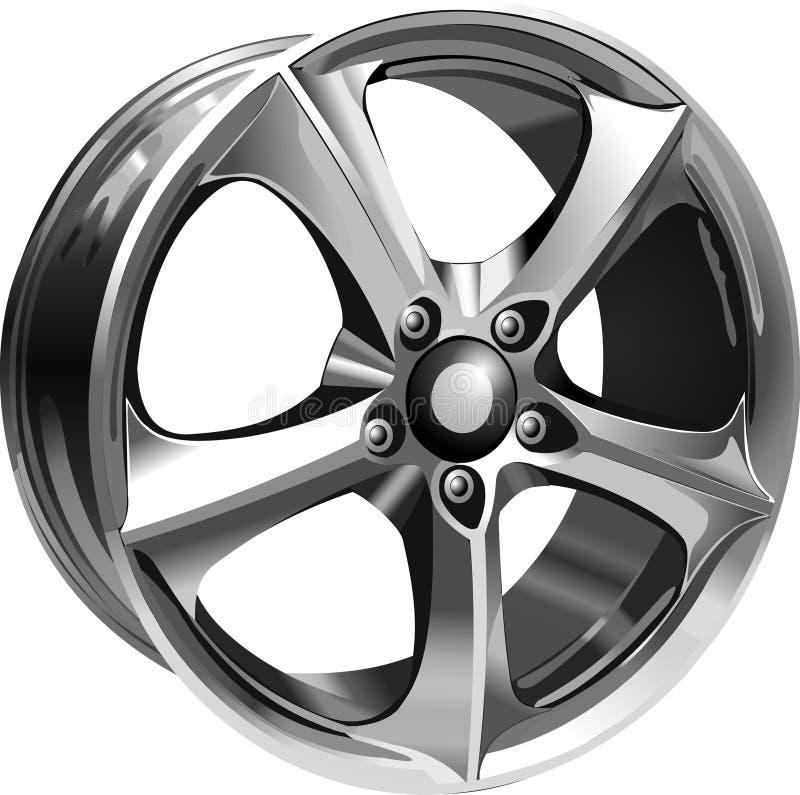 Steel Wheel royalty free illustration