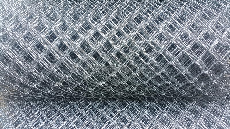 Steel wire mesh skin taxture and taxture detail of surface is identity royalty free stock images