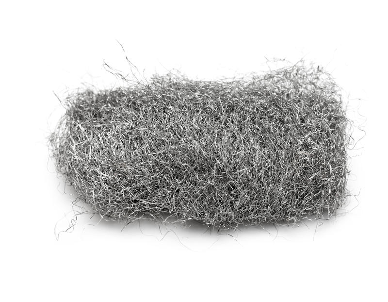 Download Steel wool pad stock photo. Image of construction, scrubber - 10390780
