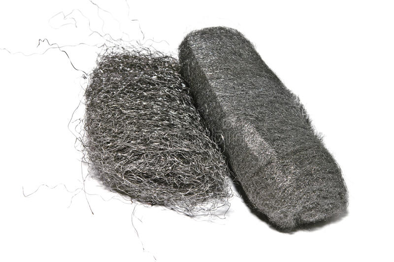 Steel Wool Pads stock photo