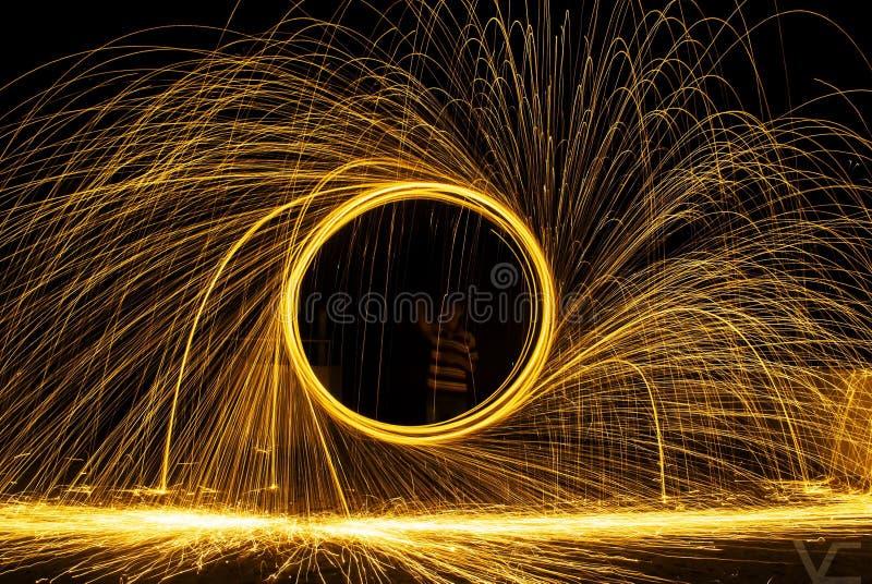 Steel Wool stock photography