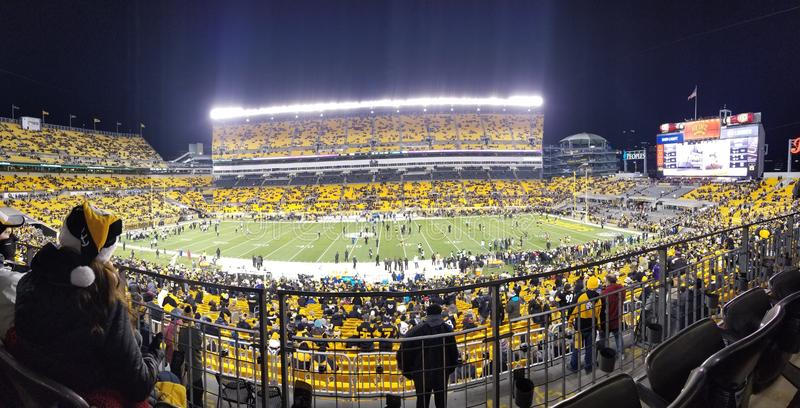 Steelers Game stock image
