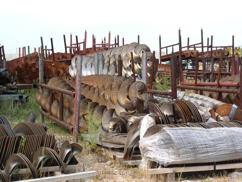 Steelyard Industrial Fotos de Stock Royalty Free