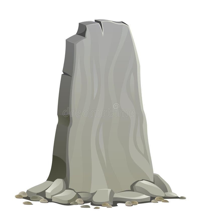 steen royalty-vrije illustratie