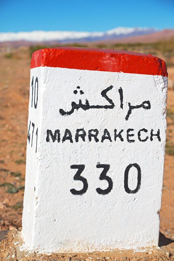 steen in Afrika Marokko royalty-vrije stock foto's
