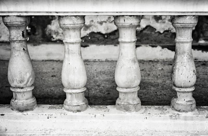Steen bannister royalty-vrije stock afbeeldingen