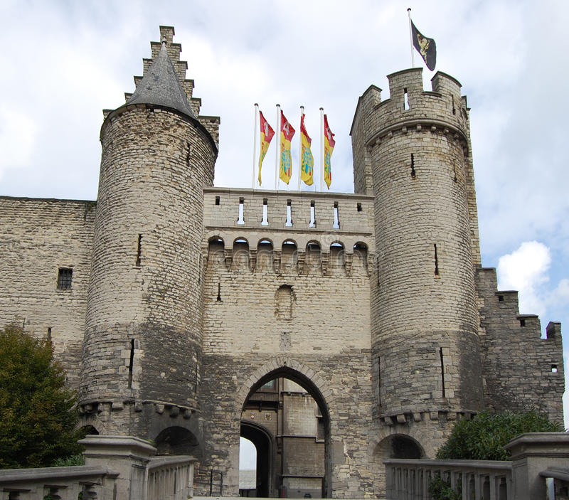Download Steen Castle stock image. Image of place, blue, exterior - 23836567