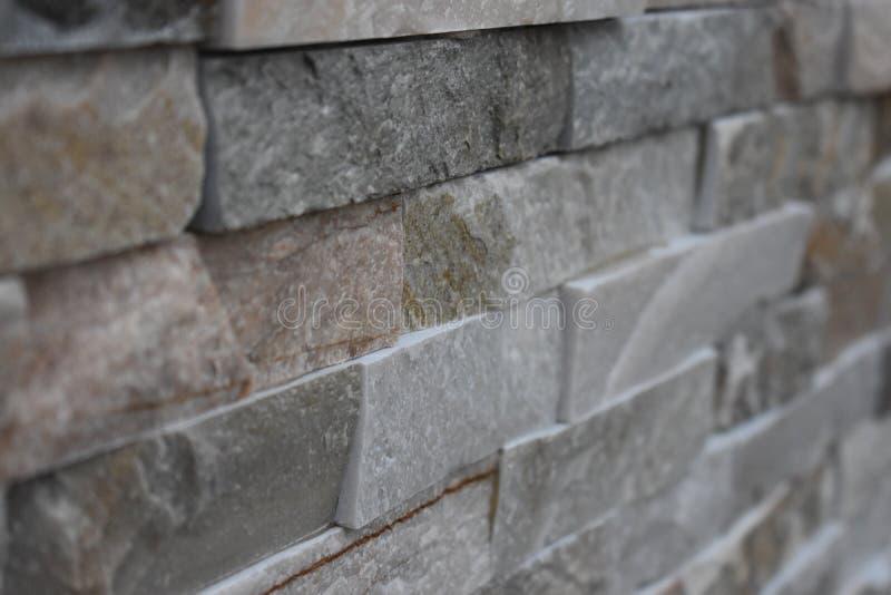 Steen decoratieve baksteen royalty-vrije stock afbeelding